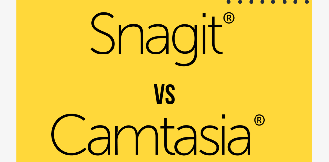 Snagit против Camtasia
